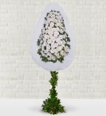 Beyaz Gerbera Sepeti
